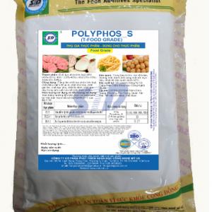 Polyphos_S (T-FOOD GRADE) (Phụ Gia Tạo Giòn Dai Cao Cấp Thay Thế Hàn The) STD